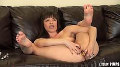 Dana DeArmond is one hell of an anal sex fan - even in solo videos
