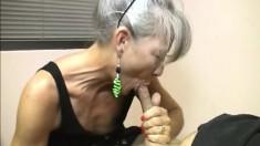 Kinky Secretary Leilani Ley Can't Wait To Drive A Big Pole To Orgasm