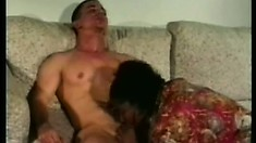 Cum-drinking naughty whores beg to get nailed by a young fucker