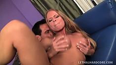 Nasty Latina MILF Nikki Delano gets her delicious snatch slammed