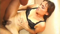 Brazilian babe and her fine ass gets nailed after some hot oral action
