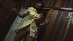 Beautiful Jam Jaminga Provocatively Dances And Drops All Her Clothes