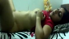 Home made Desi girl masterbating