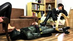 Ally Kay Femdom And Foot Fetish With Horny Boyfriend