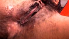 Hairy Bbw Close Up Masturbation